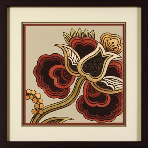 The Picture Source - Paprika Floral II - V143B