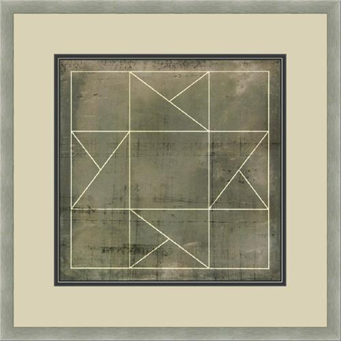 The Picture Source - Geometric Blueprint #2 - V538B
