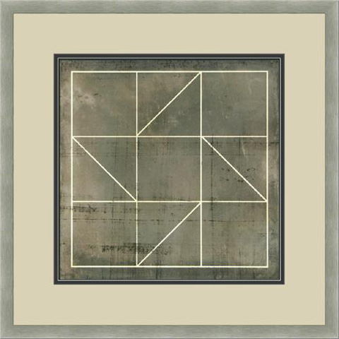 The Picture Source - Geometric Blueprint #4 - V538D