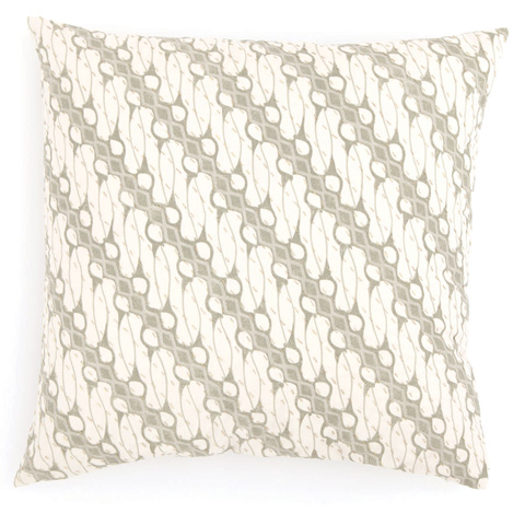 Pine Cone Hill, Inc. - Antique Batik Green Decorative Pillow - ABGDP21
