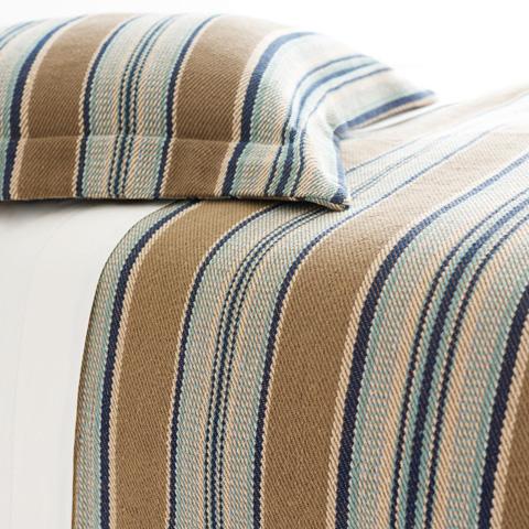 Pine Cone Hill, Inc. - Blue Heron Blanket Sham - European - BBHSHE