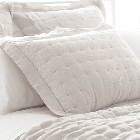 Pine Cone Hill, Inc. - Brussels Quilted Sham - Standard - Q260SS