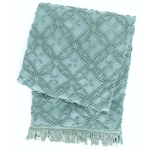 Pine Cone Hill, Inc. - Candlewick Mineral Throw Blanket - CDLMTHR