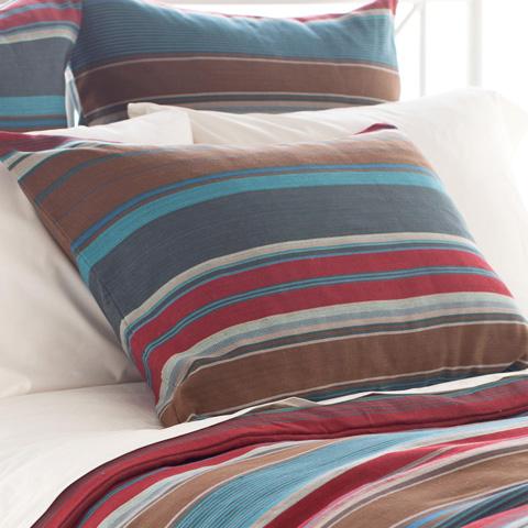 Pine Cone Hill, Inc. - Chalet Stripe Sham - Standard - CHASHS