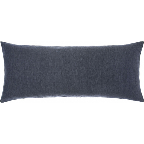 Pine Cone Hill, Inc. - Chambray Linen Ink Decorative Pillow - CHLIDPDB