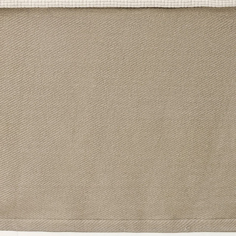 Pine Cone Hill, Inc. - Cotton Twill Oatmeal Bed Skirt - King - CTOBSK