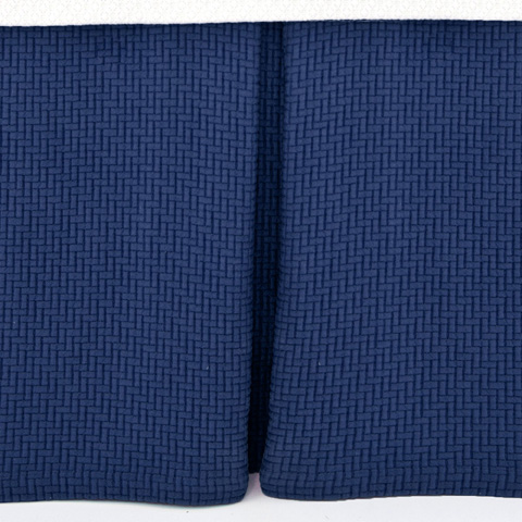 Pine Cone Hill, Inc. - Interlaken Ink Matelasse Bed Skirt - King - M13IKBSK