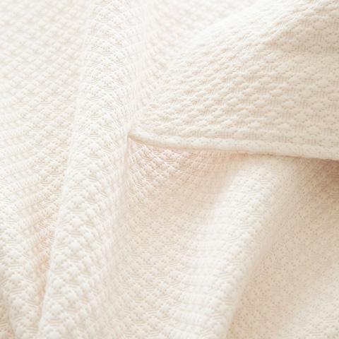 Pine Cone Hill, Inc. - Petite Trellis Ivory Matelasse Coverlet - King - M8PTIK
