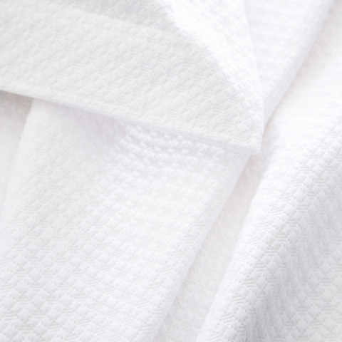 Pine Cone Hill, Inc. - Petite Trellis White Matelasse Coverlet - King - M8PTWK