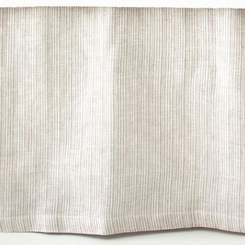 Pine Cone Hill, Inc. - Pinstripe Linen Dove Grey Bed Skirt - King - PSDGBSK