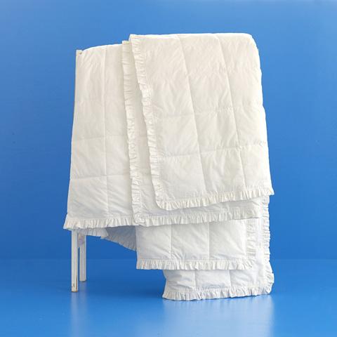 Pine Cone Hill, Inc. - Salutation Ruffled Edge Blanket in King - 90317