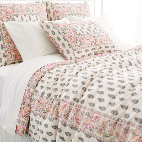 Pine Cone Hill, Inc. - Annette Spring Duvet Cover in Full/Queen - ANSPDCQ