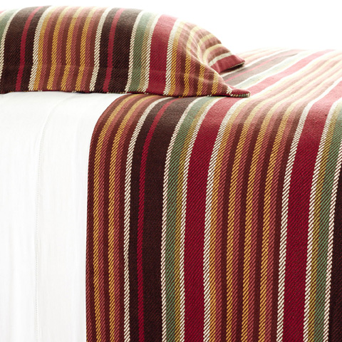 Pine Cone Hill, Inc. - Montana Stripe Blanket in Full/Queen - BMSQ