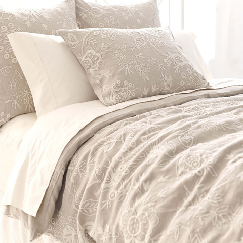Pine Cone Hill, Inc. - Manor House Duvet Cover in Full/Queen - FLCRDCQ