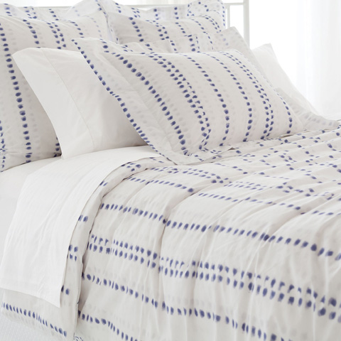 Pine Cone Hill, Inc. - Ink Dots Duvet Cover in King - INDDCK