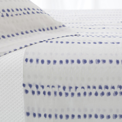 Pine Cone Hill, Inc. - Ink Dots Sheet Set in King - INDK