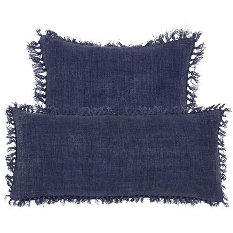 Pine Cone Hill, Inc. - Laundered Linen Indigo Decorative Pillow - LLINDP20
