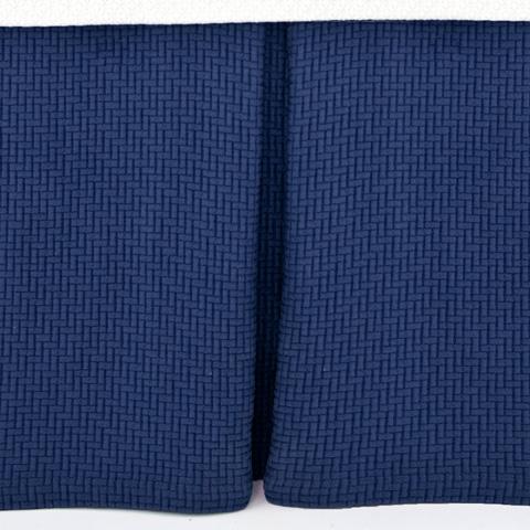 Pine Cone Hill, Inc. - Interlaken Ink Matelassé Bed Skirt in Queen - M13IKBSQ