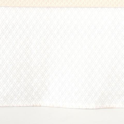 Pine Cone Hill, Inc. - Diamond White Matelassé Bed Skirt in Queen - M15WBSQ