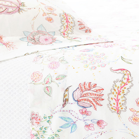 Pine Cone Hill, Inc. - Mirabelle Sheet Set in Queen - MIRQ
