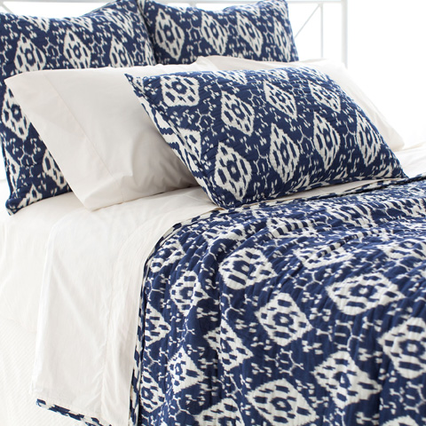 Pine Cone Hill, Inc. - Varkala Indigo Quilt in Full/Queen - Q258IFQ
