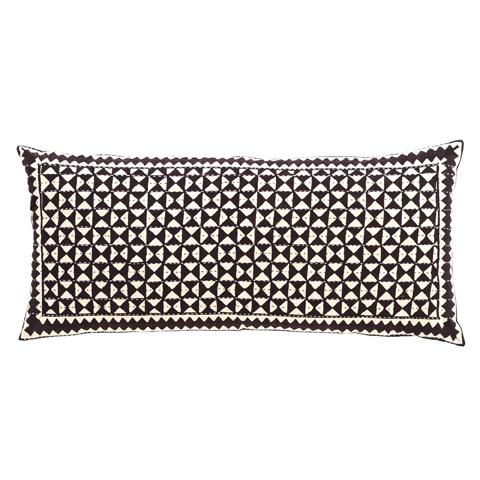 Pine Cone Hill, Inc. - Resist Tile Java Decorative Pillow - RTJDPDB