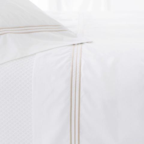 Pine Cone Hill, Inc. - Trio Linen Pair of Standard Pillowcases - TRLCSS