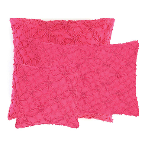 Image of Candlewick Fuchsia Decorative Pillow