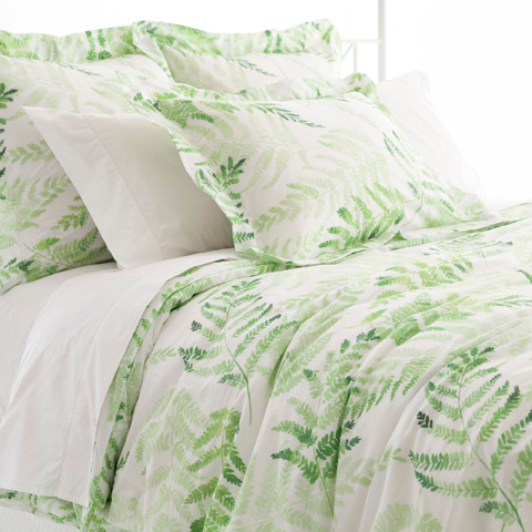Image of Ferns Duvet Cover in Queen