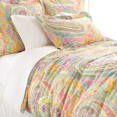 Image of Lyric Paisley Duvet Cover in Queen