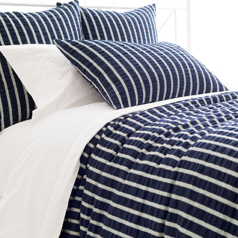Image of Parker Indigo Duvet Cover in Queen