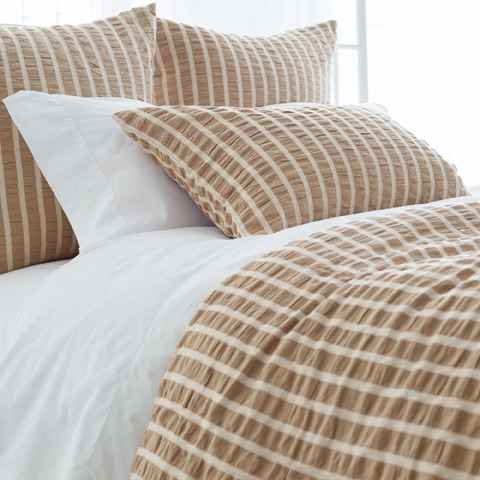 Image of Parker Linen Duvet Cover in Queen