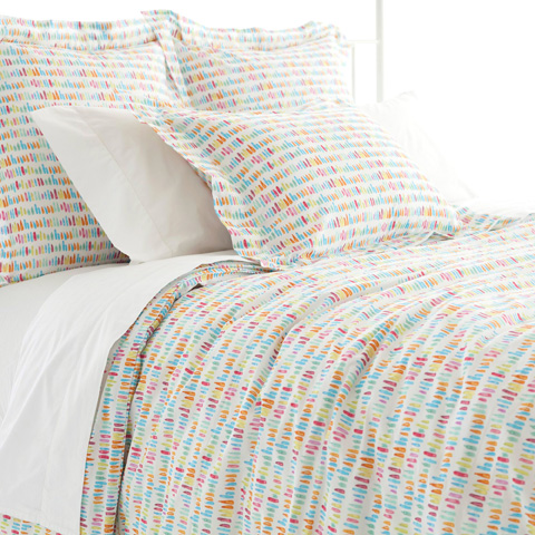 Image of Paintbrush Duvet Cover in Queen