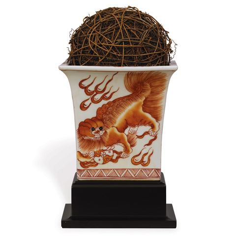 Port 68 - Chow Spice Square Planter with Stand - ACBS-059-06