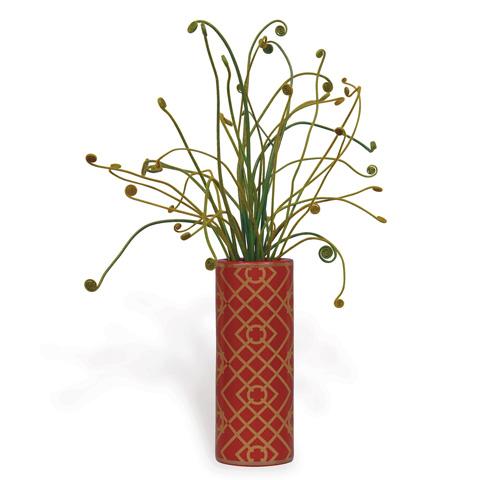 Port 68 - Viceroy Cylinder Vase in Red - ACBS-092-10
