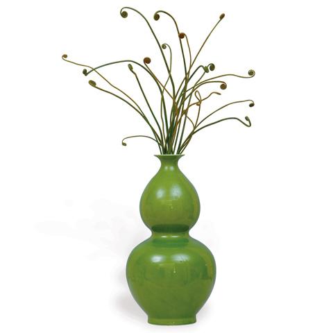 Port 68 - Apple Green Vase Double Gourd - ACBS-109-01