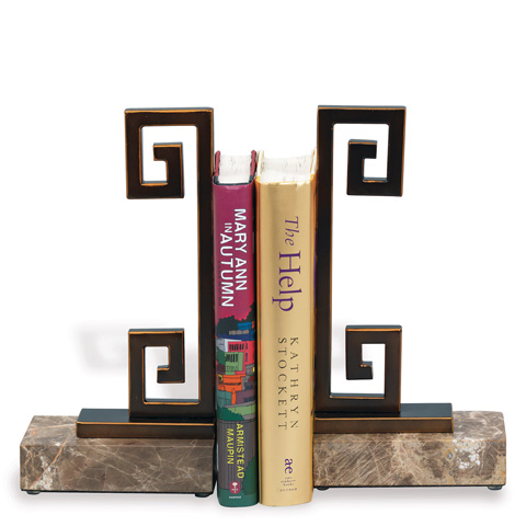 Port 68 - Set of Two Mizner Bookends - ACFM-143-04