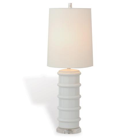 Port 68 - Sarasota White Lamp - LPAS-033-02