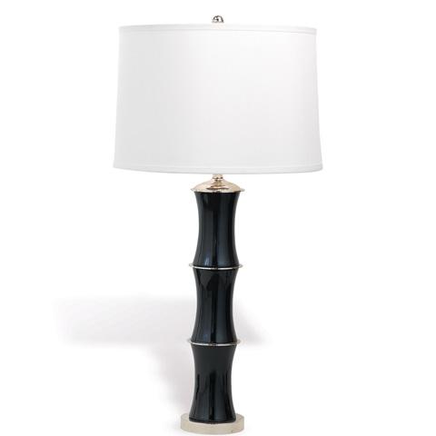 Port 68 - Rivoli Nickel Black Lamp - LPAS-074-07