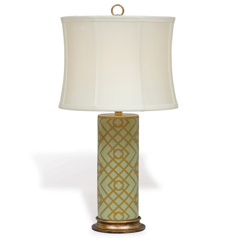 Port 68 - Viceroy Cylinder Lamp in Mint - LPAS-092-08