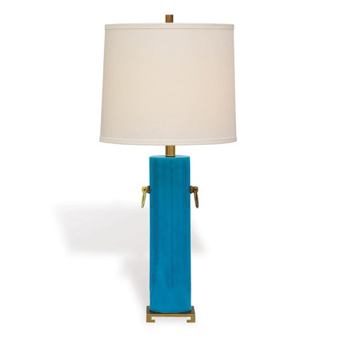 Image of Beverly Lamp in Turquoise