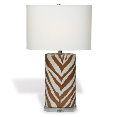 Port 68 - Kenya Oval Lamp in Brown - LPAS-111-01