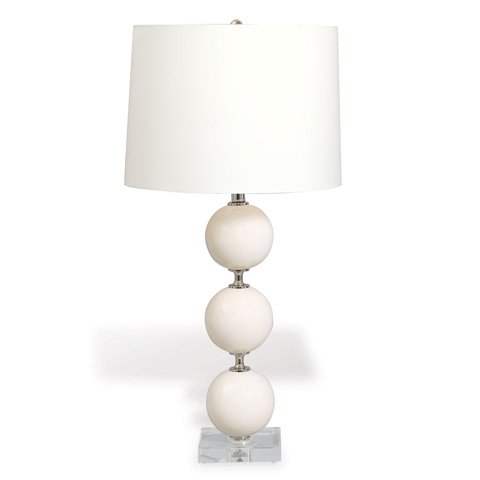 Image of Katherine Lamp in Ivory