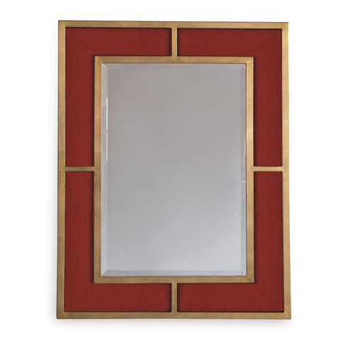 Port 68 - Bedford Gold Crimson Weave Mirror - ACFS-272-07