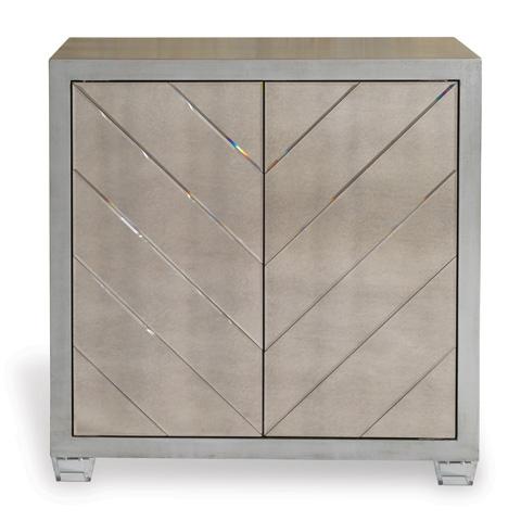 Port 68 - Delray Silver Cabinet - AFCS-237-01