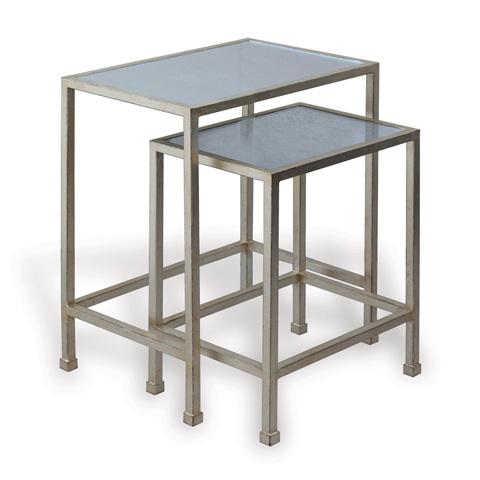 Port 68 - Peyton Silver Tables (Set Of 2) - AFDM-259-02
