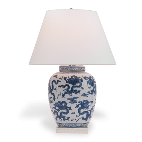 Port 68 - Dragon Navy Lamp - LPAS-101-06