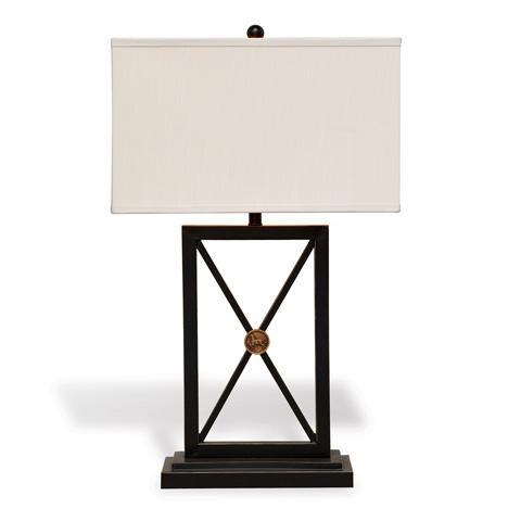 Port 68 - Medallion Black Lamp - LPAS-222-01