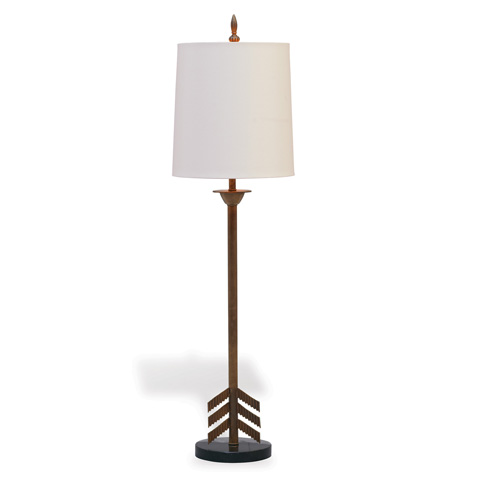 Port 68 - Franco Ivory Buffet Lamp - LPAS-224-04