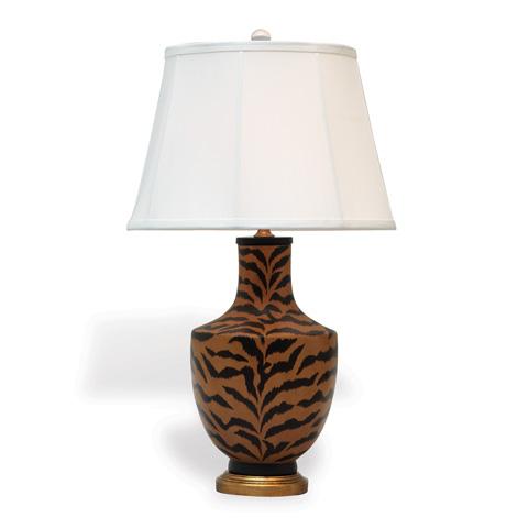 Port 68 - Le Tigre Natural and Ivory Lamp - LPAS-233-01